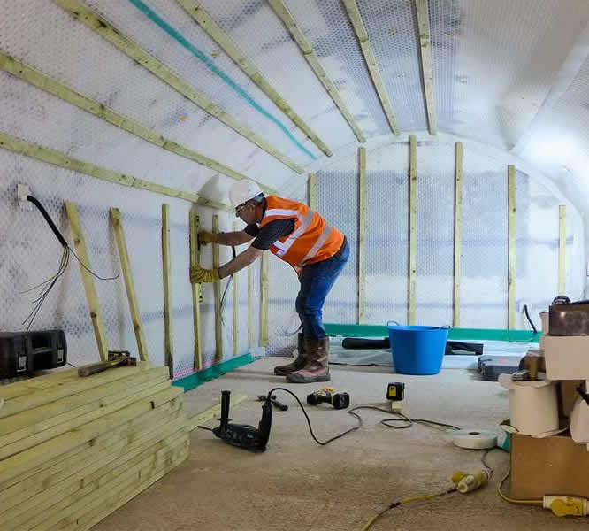 CSW Basement Waterproofing Services London